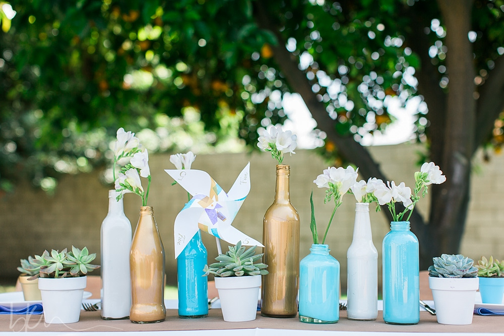 DIY styled shoot using Dollar Store items by Pop The Champagne Events!
