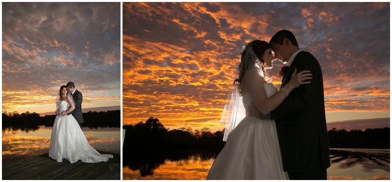 outdoor wedding couple photos