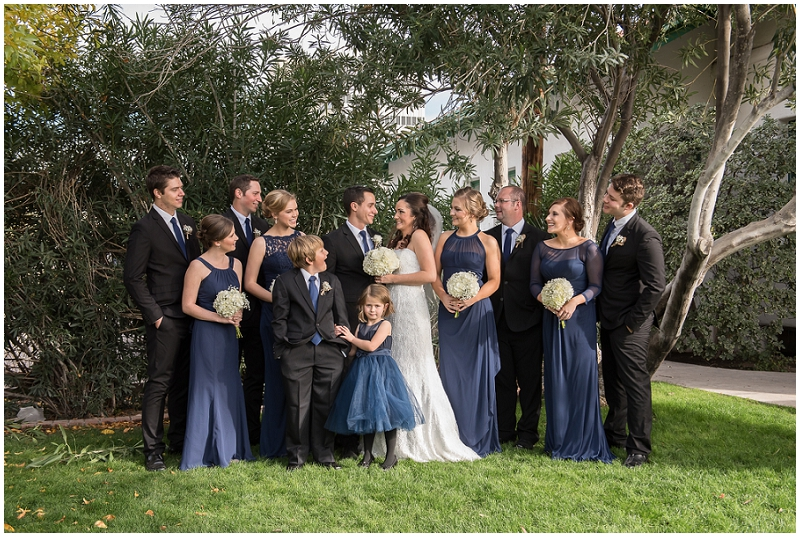 Elegant Navy and Black Wedding | The Budget Savvy Bride