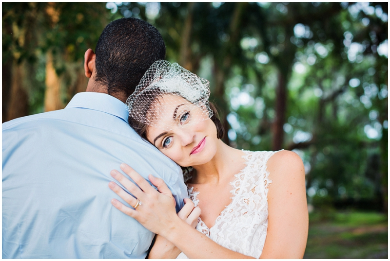 Florida wedding couple photos