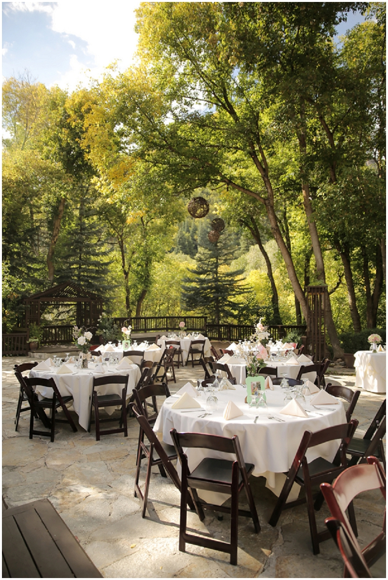 outdoor reception
