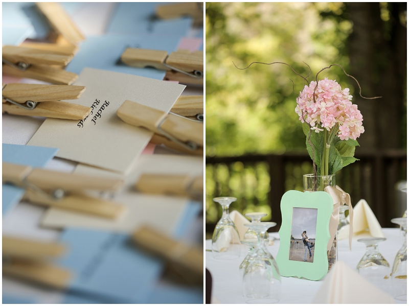 clothespin placecards