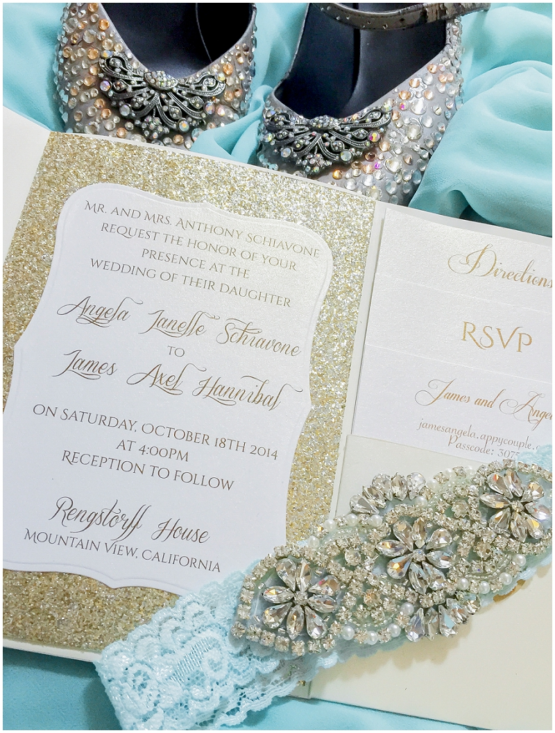 sparkly wedding details