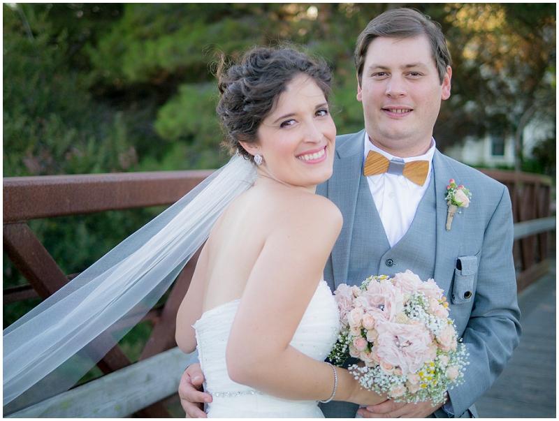 bride and groom wedding photos