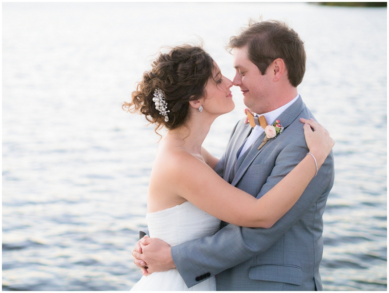 beach bride and groom wedding photos