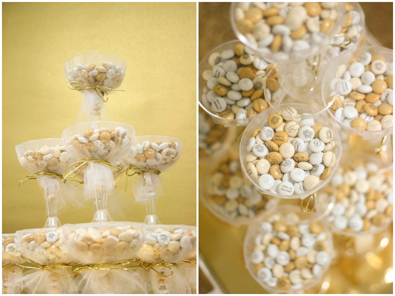 wedding favors featuring My M&M's - Wedding Favor Idea