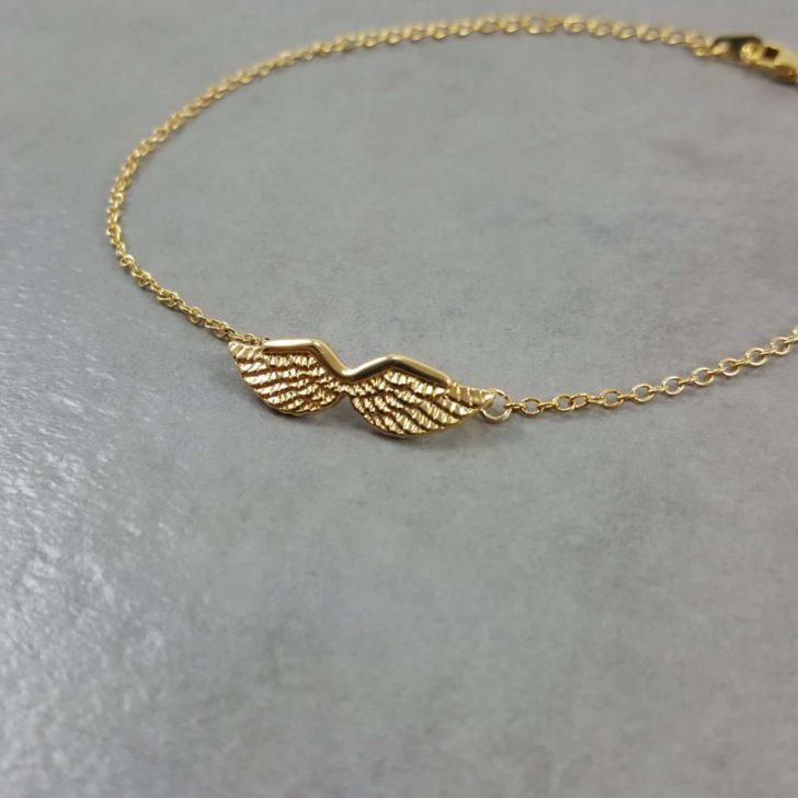 angel wings bracelet