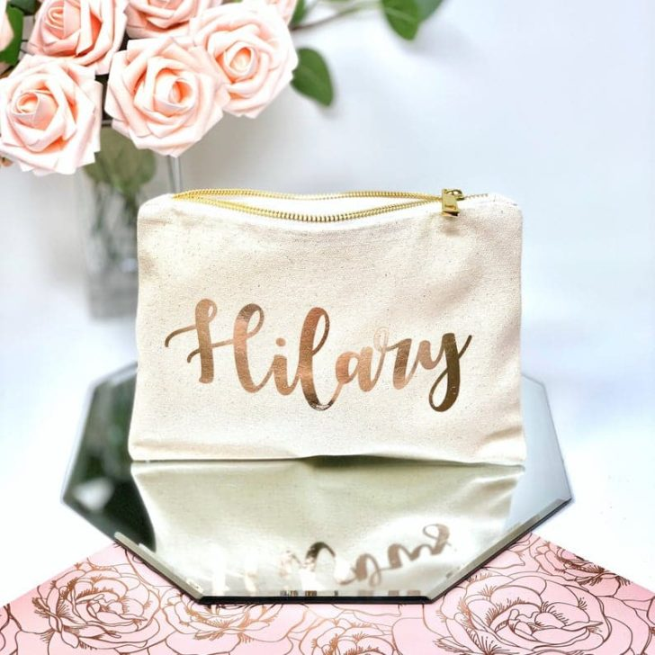 personalized canvas bag