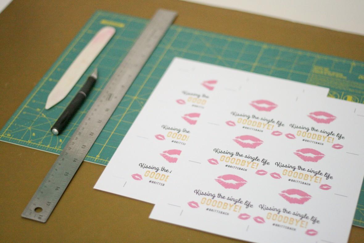 bachelorette party favor idea and printable