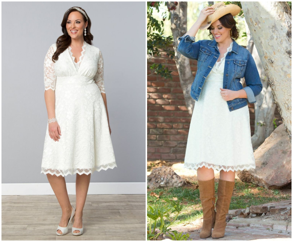 rustic wedding dress plus size