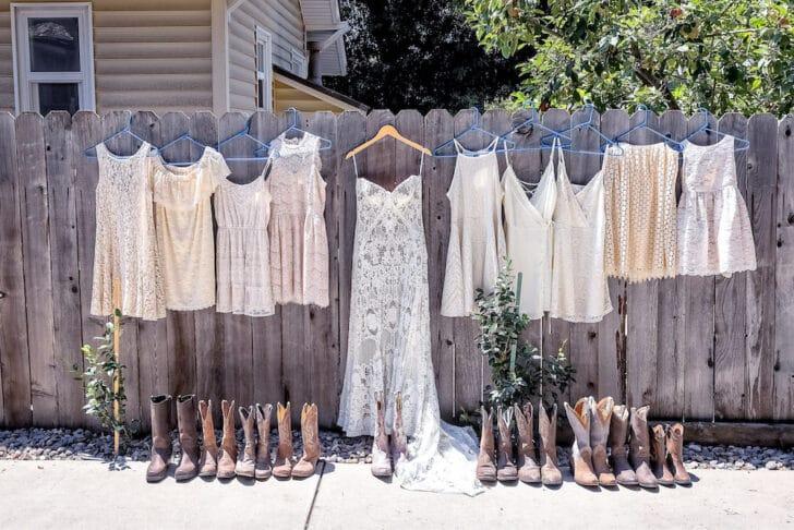 saving money on bridesmaids dresses