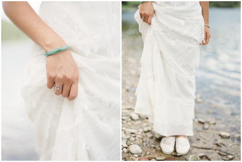 Simple bridal details