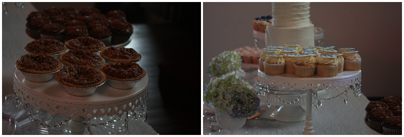 wedding pies and cupcakes