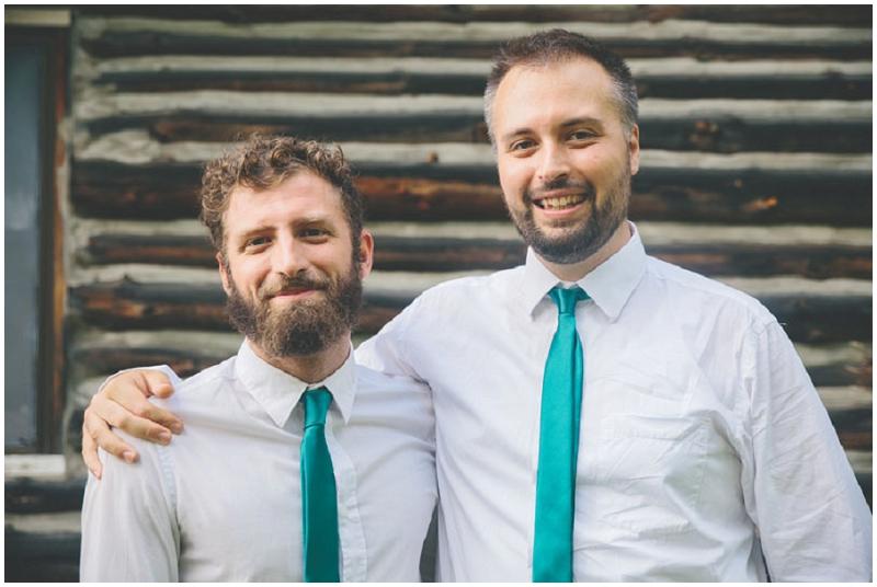 emerald groomsmen ties