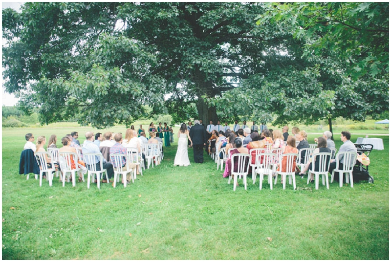 outdoor processional