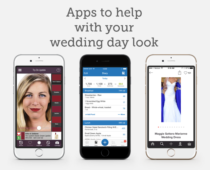 apps-to-help-with-your-wedding-day-look