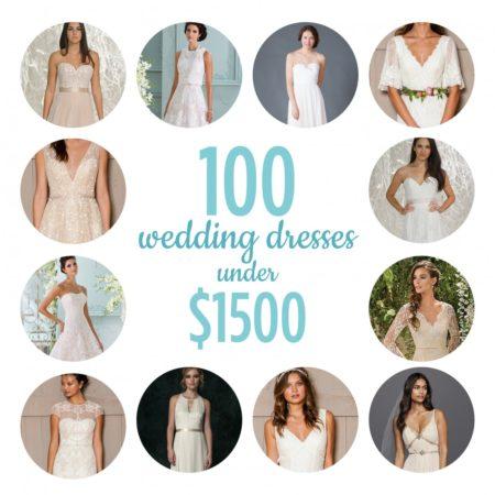 100 dresses under $1500