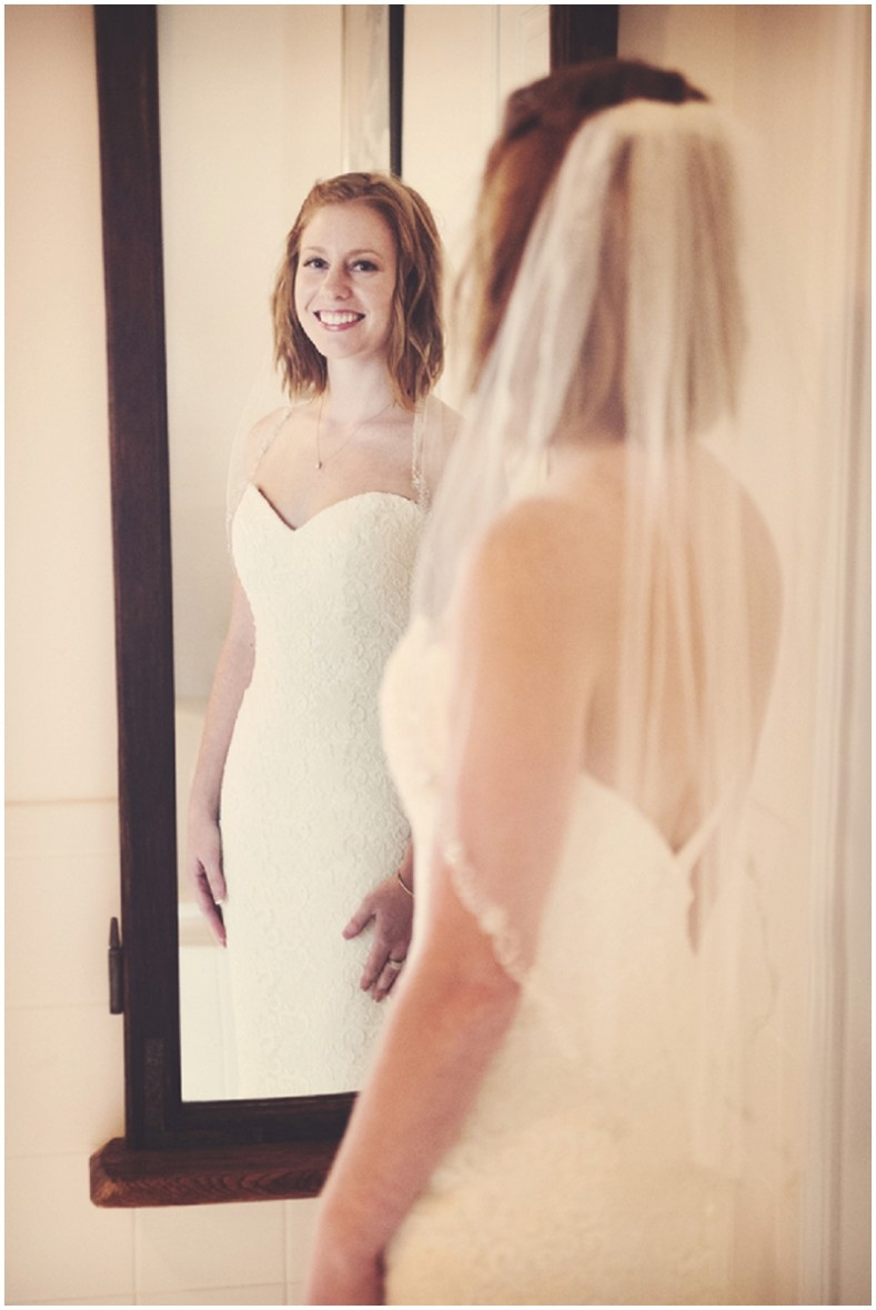 indoor bridal shots