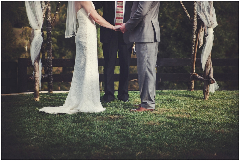 outdoor Georgia wedding