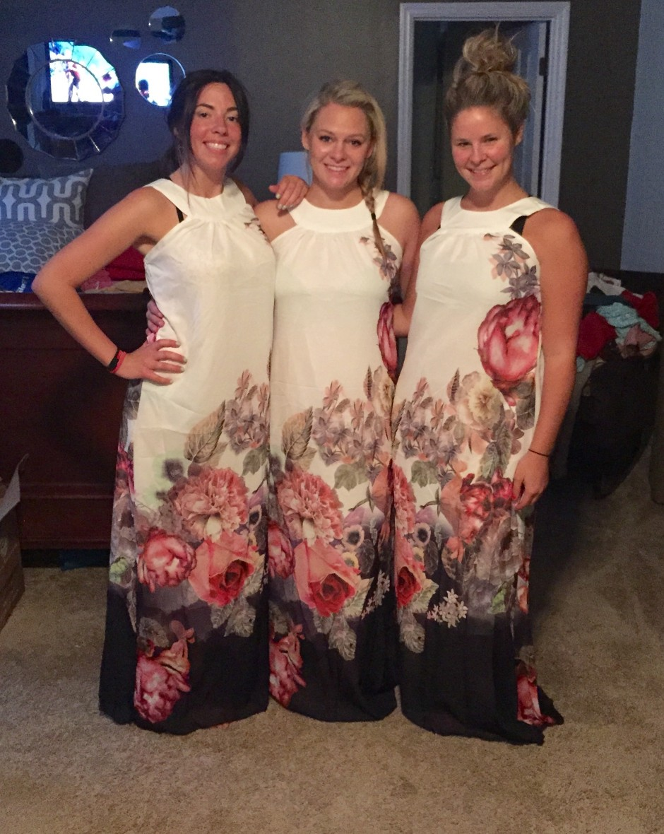 I ordered my bridesmaids dresses for my wedding from a sketchy website.