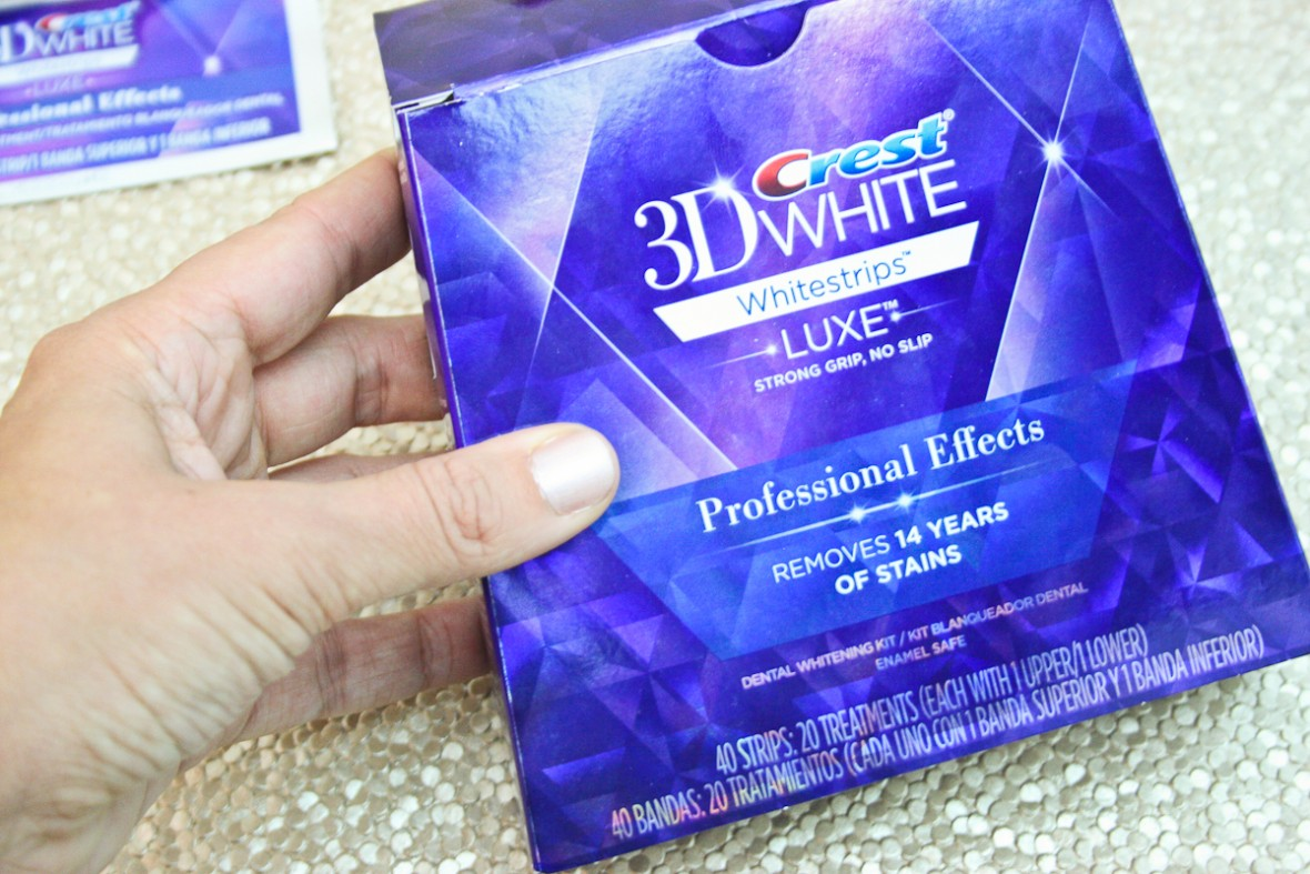 Crest Whitestrips - the perfect way to get a wedding ready smile
