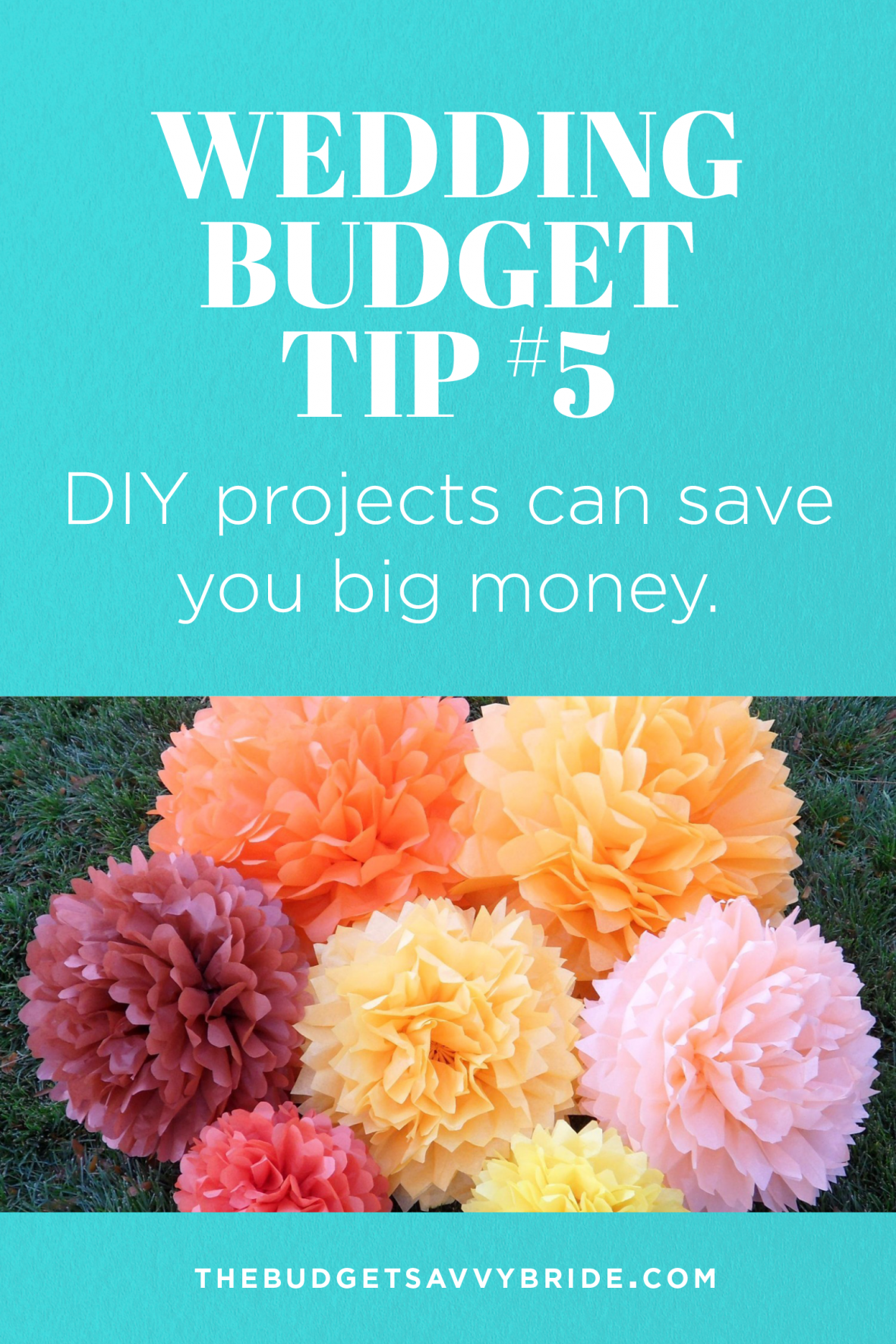 Wedding budget tip 5 do diy projects for your wedding the budget wedding budget tip 5 diy projects can save you big money solutioingenieria Image collections