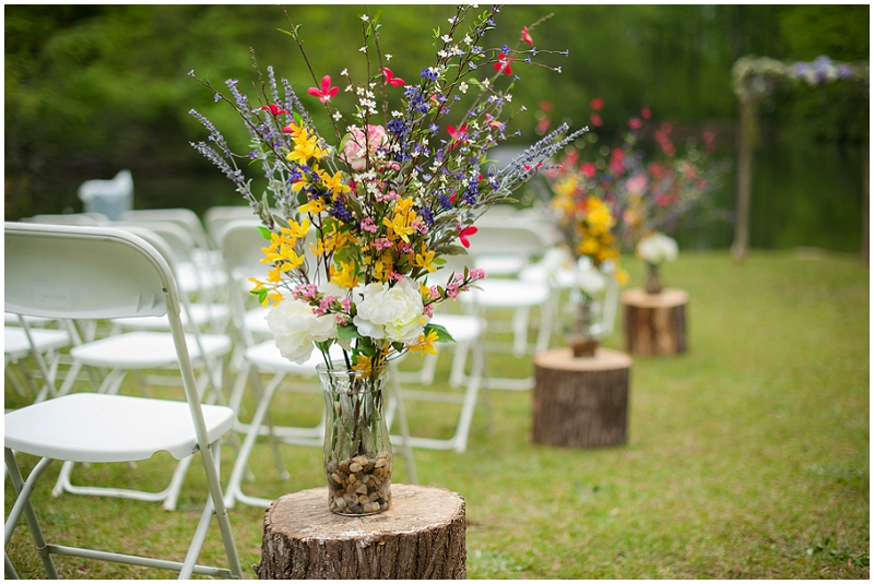 outdoor state park wedding