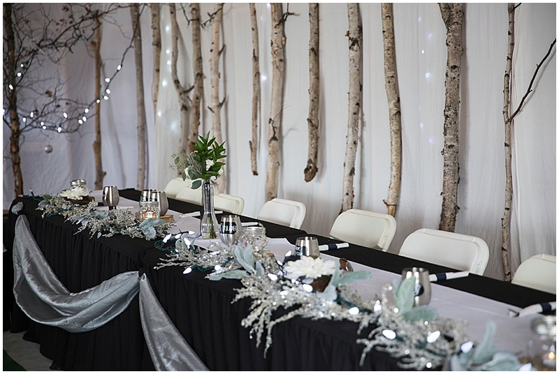 Black, White and Gray Wedding | The Budget Savvy Bride