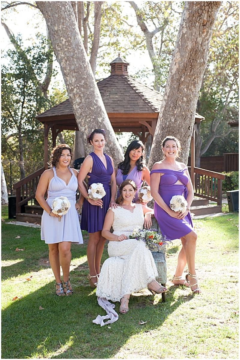 Purple Outdoor Wedding...