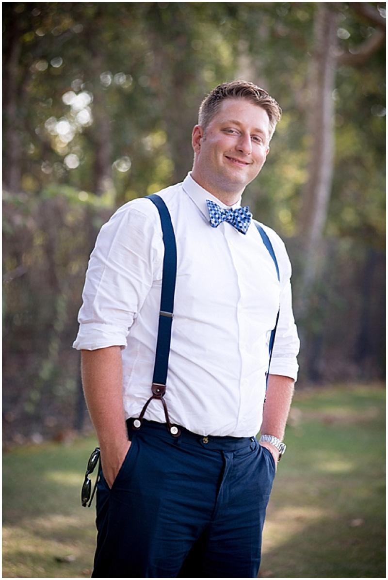suspenders groom attire
