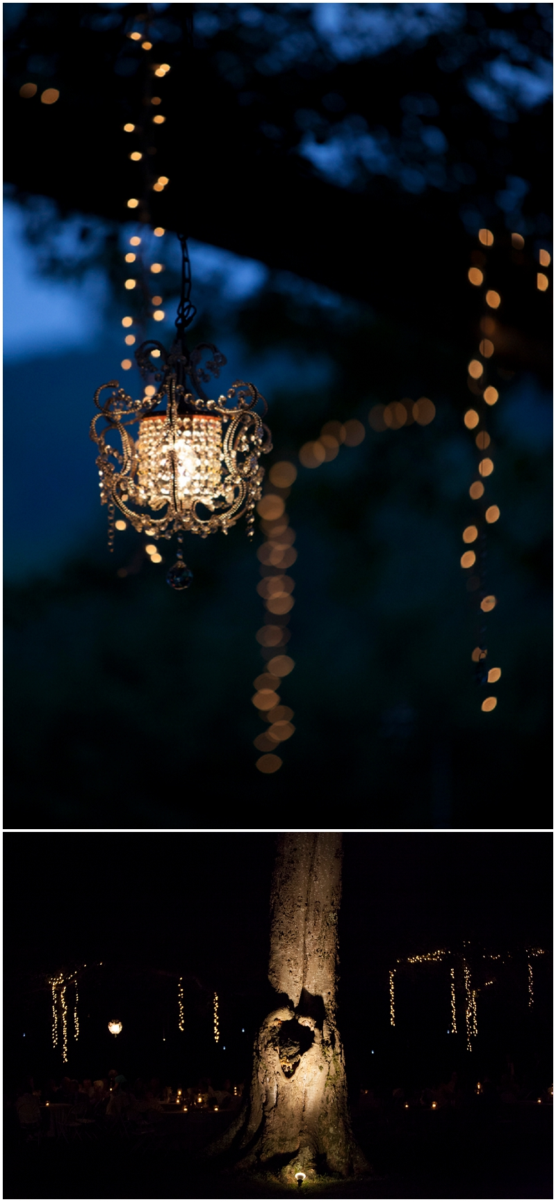 outdoor evening lighting