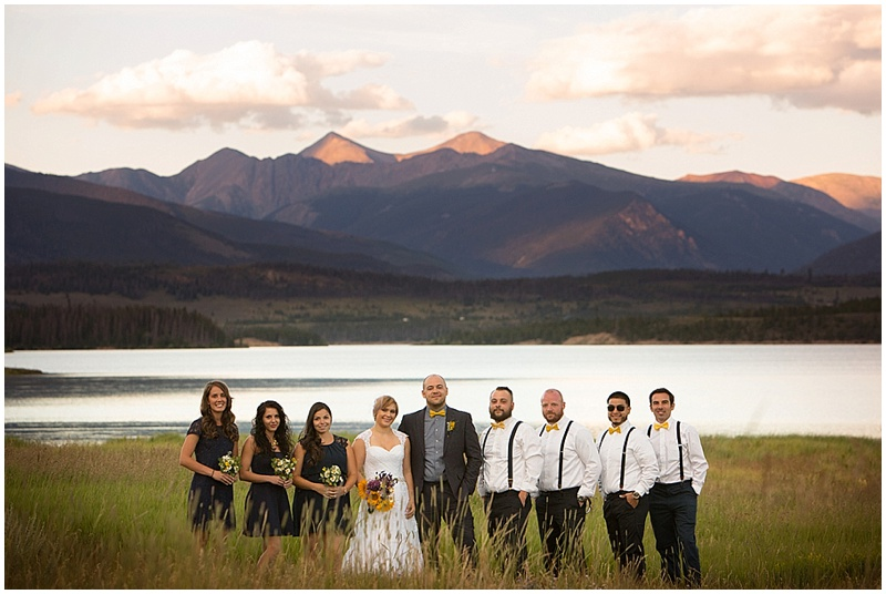 wedding party colorado