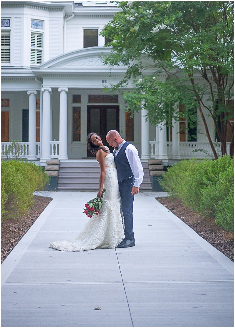 Intimate Outdoor Wedding_0023