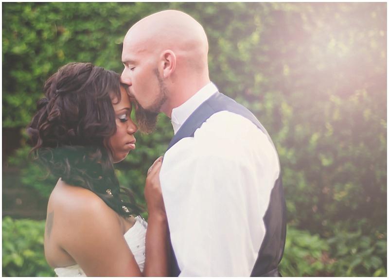 wedding sunlit photos