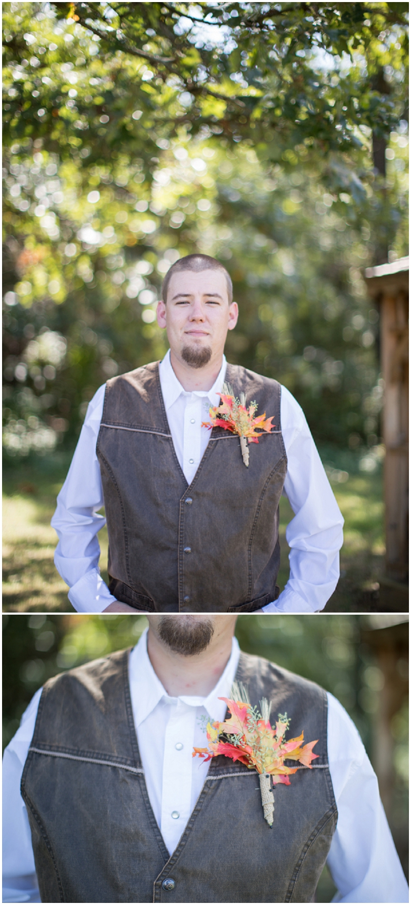 casual groom attire