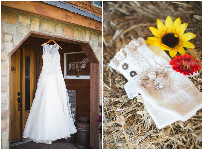 autumn wedding details