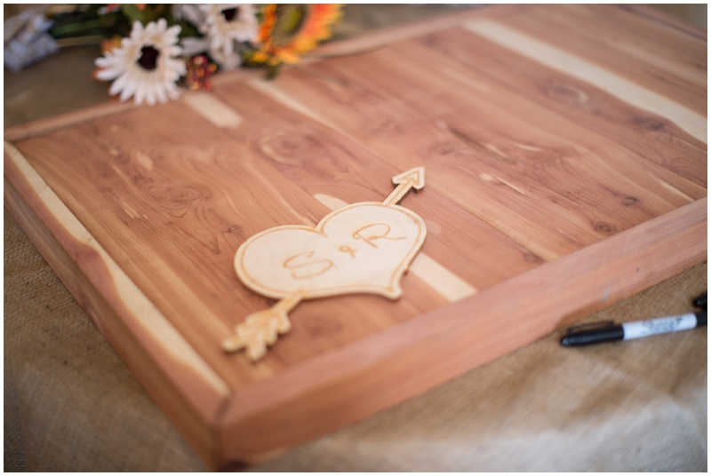 creative wedding guest book