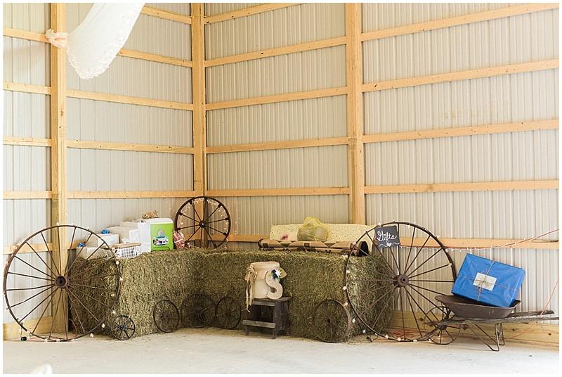 rustic decor -rustic farm wedding