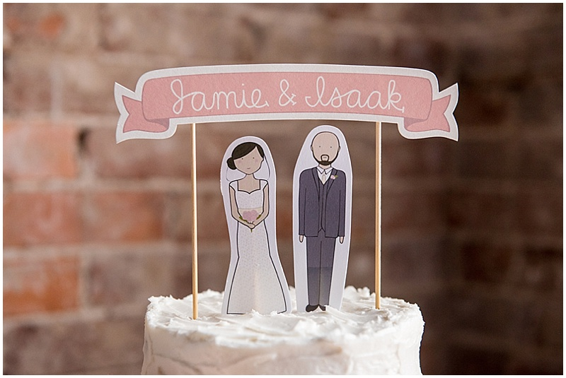 personalized cake topper