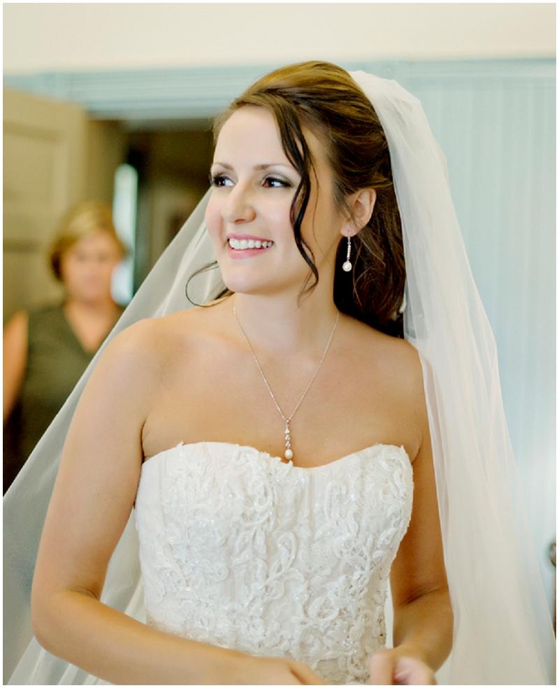indoor bridal photos