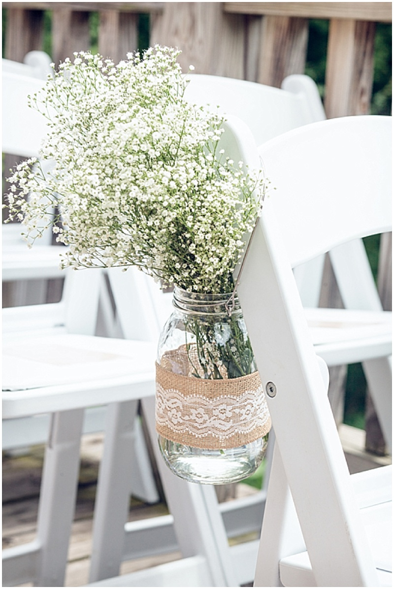 baby's breath wedding decor