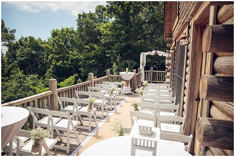 deck wedding venue