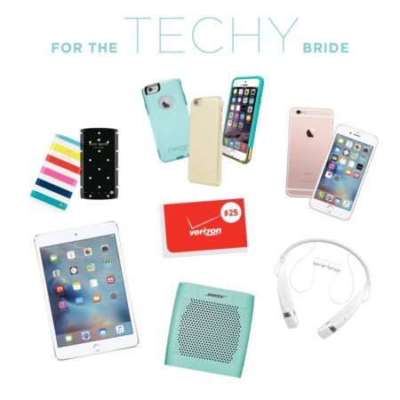 2015 Gift Guide: gift ideas for the techy bride