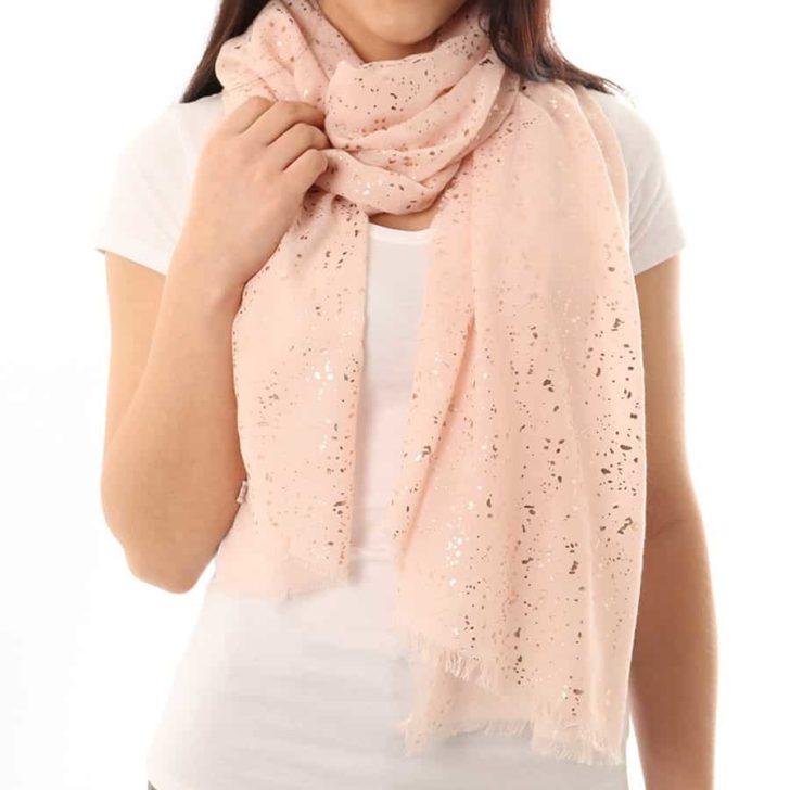 glitter scarf