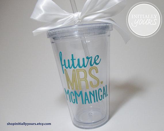 future mrs drink tumbler
