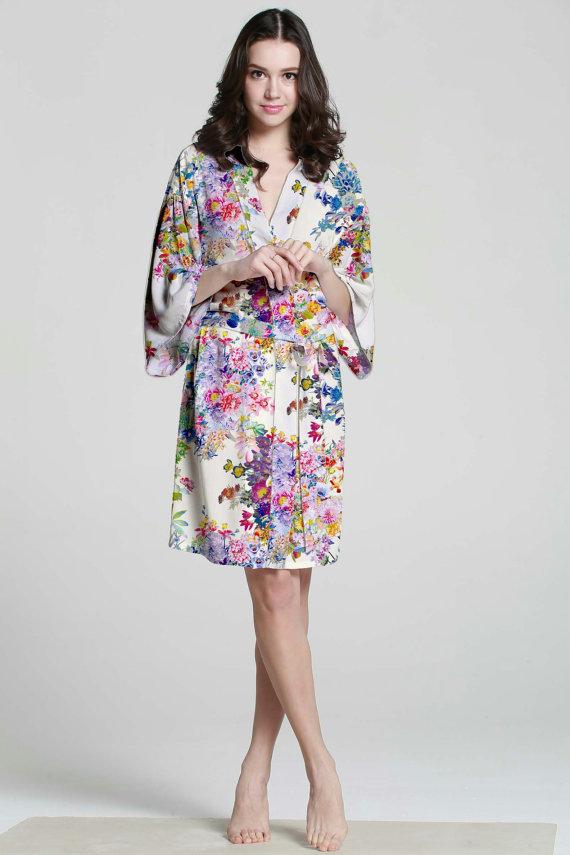 Flower Robe - great gift idea
