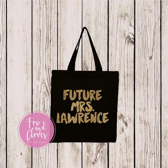 Custom Future Mrs Tote Bag