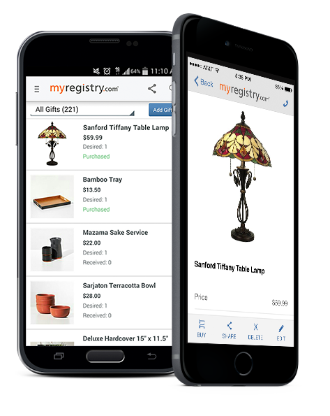 My Registry app for iPhone