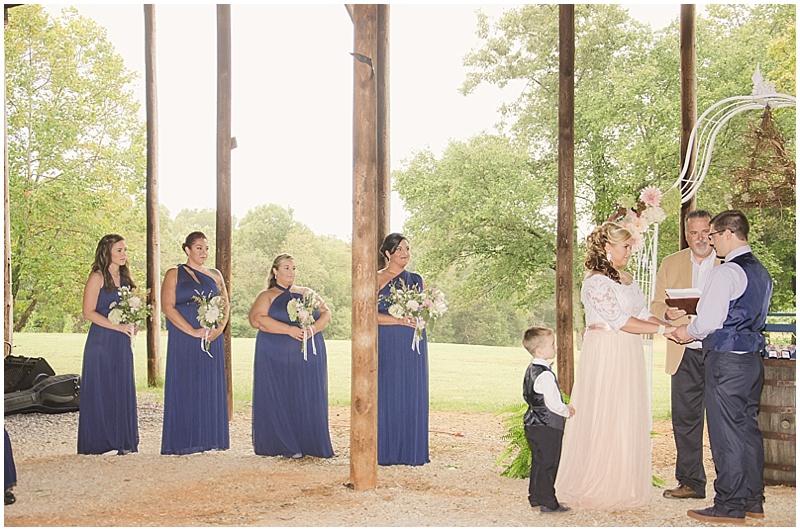 winery wedding ceremony
