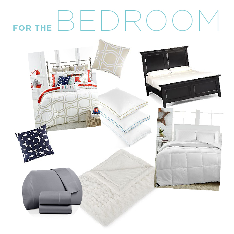 Bed and Bath Items for Your Wedding Registry